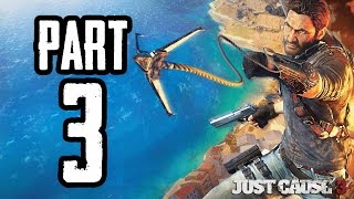 Just Cause 3 | #3 | Agraelus | CZ Lets Play / Gameplay [720p60] [PC]