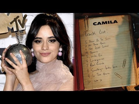 Camila Cabello Shares Track List for Debut Album