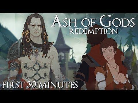 Gameplay de Ash of Gods: Redemption