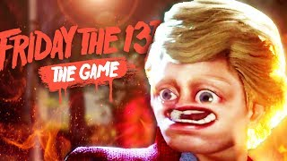 I HAD TO PUT LITTLE TEM TEM DOWN!! • Friday the 13th: The Game Gameplay