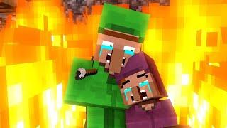 Villager Life FULL SERIES (All Seasons Movie) - Minecraft Animation