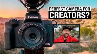 BEST CAMERA For YouTube? - Canon M50 Is Made For Creators