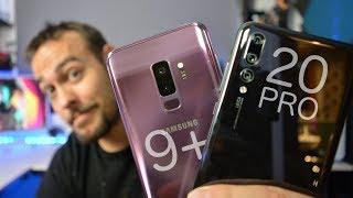 Huawei P20 Pro vs Samsung Galaxy S9 Plus | ¿Cuál comprar?