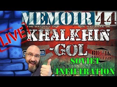 LIVE: Sam vs. The Internet (Memoir '44 Khalkan-Gol Campaign 4/8)