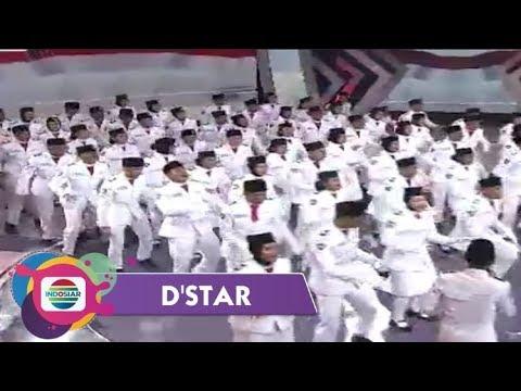 Gak Disangka!!Seru Banget Yel-Yel Paskibraka 2019 Di Panggung D'star