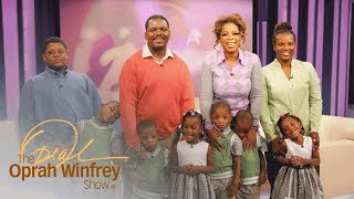 Oprah Meets America's First Surviving African-American Sextuplets | The Oprah Winfrey Show | OWN