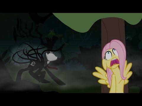 ??? meets My Little Pony - Флаттершай и Слендер! (Rus by Mia & Rissy)