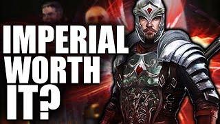 Skyrim: Being an Imperial WORTH IT? - Elder Scrolls Lore