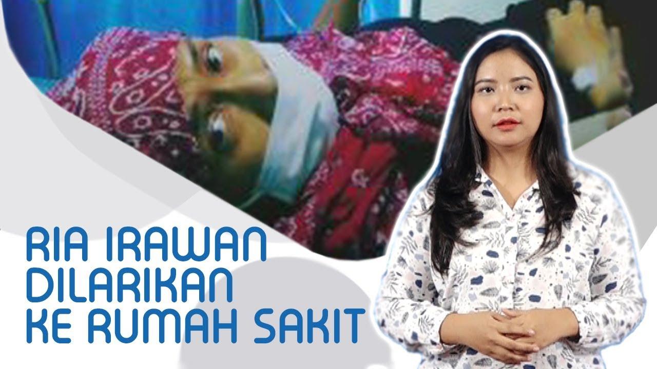 Ria Irawan Dilarikan ke Rumah Sakit Sang Suami Tuliskan