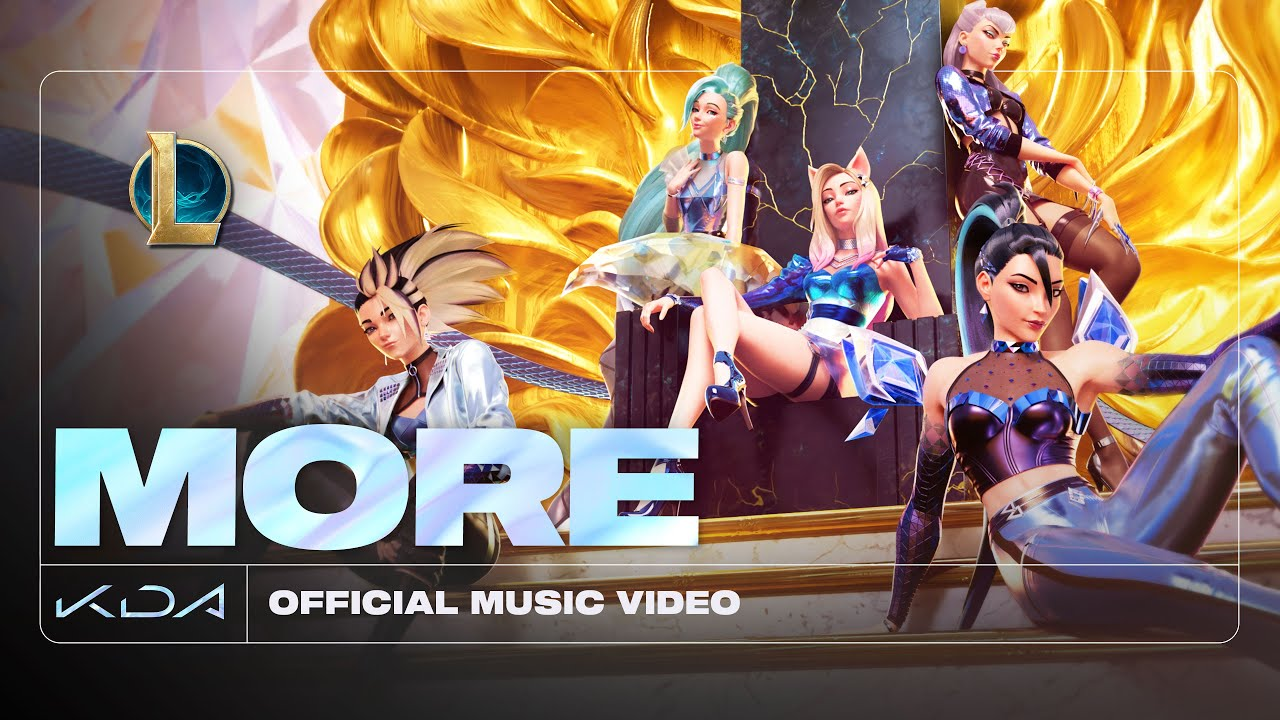 K/DA, Madison Beer & (G)I-DLE feat. Lexie Liu, Jaira Burns, Seraphine and League of Legends – More