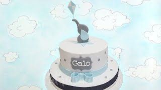 TORTA BABY SHOWER PASO A PASO! 👶| BABY SHOWER CAKE