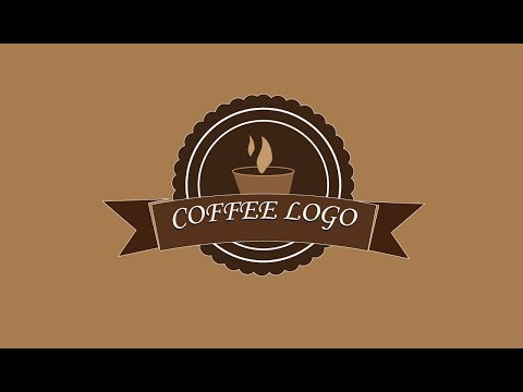 Creating Simple coffee logo in Adobe illustrator CC