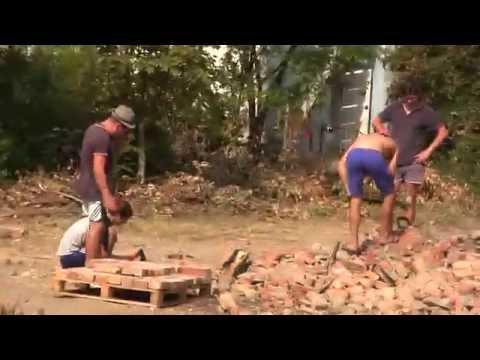 місто Теплодар 1.08.2016 демонтаж басейну