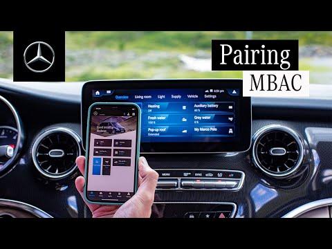 Musique pub  Mercedes Benz Le Marco Polo |  Couplage de l'application Mercedes-Benz Advanced Control    Juillet 2021