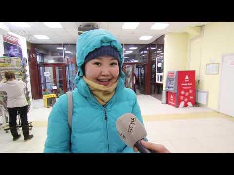 Горожане поздравляют якутян с наступающим Новым годом (Видео)