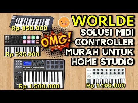 WORLDE Solusi MIDI Controller MURAH untuk Home Studio