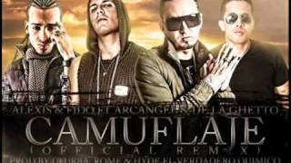 Camuflaje Remix (Alexis   Fido Ft Arcangel   De La Ghetto) 2011® - YouTube.flv