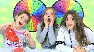 DUMP IT Slime Challenge with 2 Mystery Wheels!