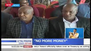 The government has no money-President Uhuru Kenyatta