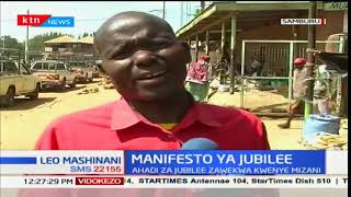 Maanoni ya wakazi wa Samburu kuhusiana na manifesto ya Jubilee kuanzia mwaka wa 2017- 2022