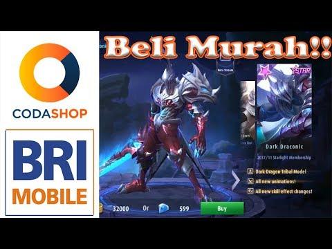 Cara beli di Codashop (M-BRI), Starlight Member (Argus) - Mobile Legend - Indonesia