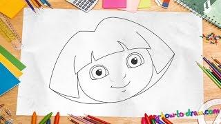 איך לצייר את דורה