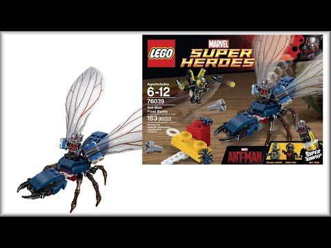 LEGO Super Heroes 76039 Человек-муравей. Обзор конструктора Лего СуперГерои.