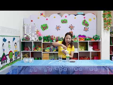 Bài giảng trực tuyến (cùng bé khám phá khoa học) do cô giáo Trần Thị Thanh Hoa, GV Trường MN Tô Hiệu TP Sơn La thực hiên