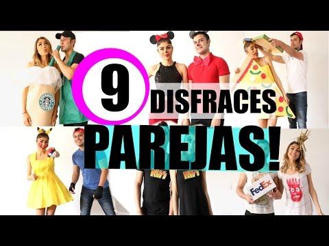 9 DISFRACES EN PAREJA! - Pautips