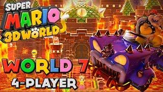 Super Mario 3D World - World 7 (4-Player)