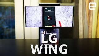 LG Wing 5G hands-on: Surprisingly practical