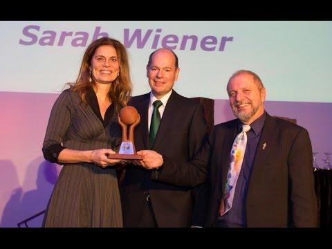 GREEN BRANDS Germany 2015 Gala – Ehrung von Sarah Wiener