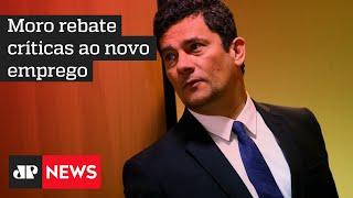 Contratado como consultor, Moro afirma que não atuará em casos de conflito de interesses