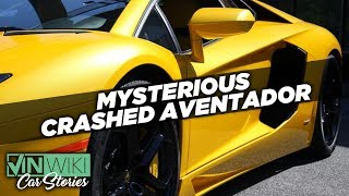 The mystery of the crashed Aventador