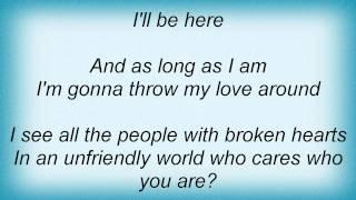 Jon Mclaughlin - Throw My Love Around Lyrics