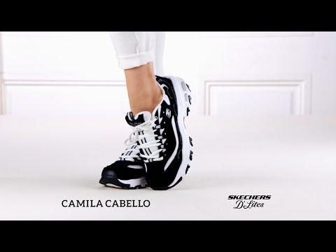 e7fa3b4f5f4 Camila Cabello Skechers D´Lites
