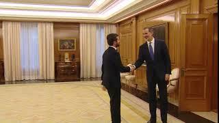 Su Majestad el Rey recibe a Don Pablo Casado Blanco, del Partido Popular