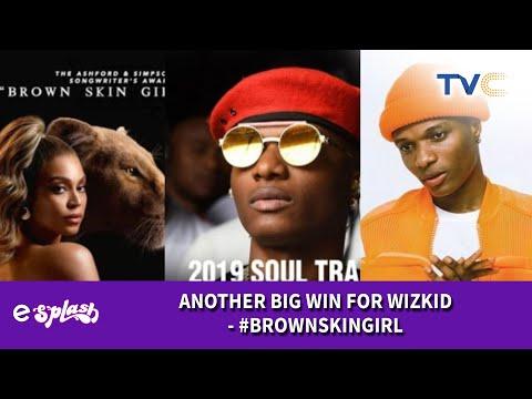 Wizkid Wins Soul Train Award For Brown Skin Girl