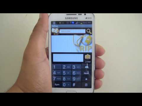 Video of RIPText SMS RIP Text message