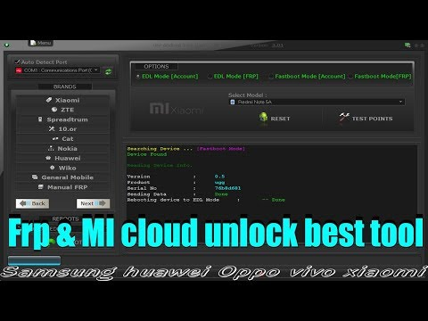 Samsung Oppo Xiaomi Huawei | All In One Frp unlock Dongle