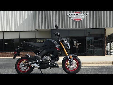 2021 Kawasaki Z125 Pro in Greenville, North Carolina - Video 1