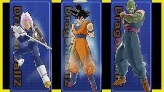 DBZ Budokai 3 HD - 【Secret】 UNLOCK costumes 【Goku Halo, Armor Trunks, King Piccolo】