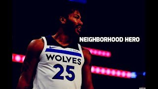 "Derrick Rose Ft. Lil Durk  ""Neighborhood Hero"" (Timberwolves Mix)"