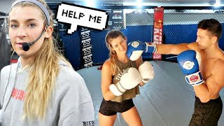 SWITCHING LIVES WITH MY BOYFRIEND....He's a Pro Fighter!