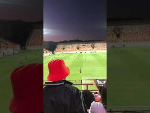 """HURACÁN NARANJA VS MELIPILLA 2019"" Barra: Huracan Naranja • Club: Cobreloa"