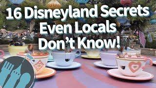 16 Disneyland Secrets Even Locals Dont Know!