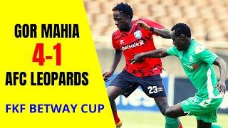 Gor Mahia vs AFC Leopards Penalty Shootouts (4-1) | Betway Cup Final 2021