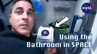 How to use the Bathroom in Space