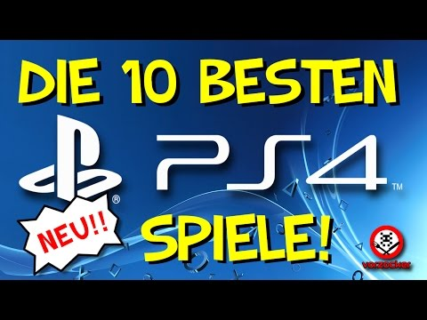 TOP 10: Die besten Spiele für PS4! - *NEU*