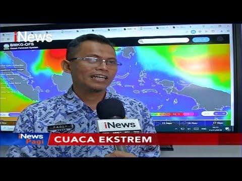 BMKG Prediksi Hujan Lebat dan Angin Kencang di Pulau Jawa dan Sumatra - iNews Pagi 12/11